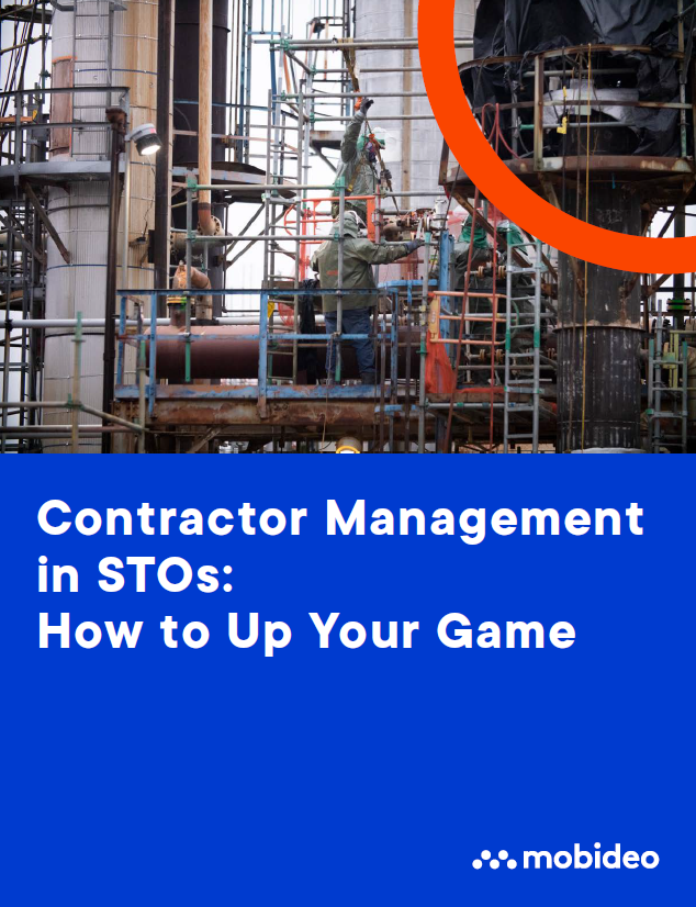 Mobideo - eBook - Contractors management in STOs - Cover image